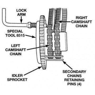 8515 Secondary Camshaft Chain Holder 8429 522902
