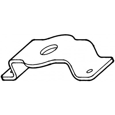 Water Pump Remover Support Plate J-38816-5