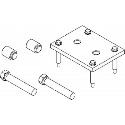 Bearing Pusher/Puller Set J-44376