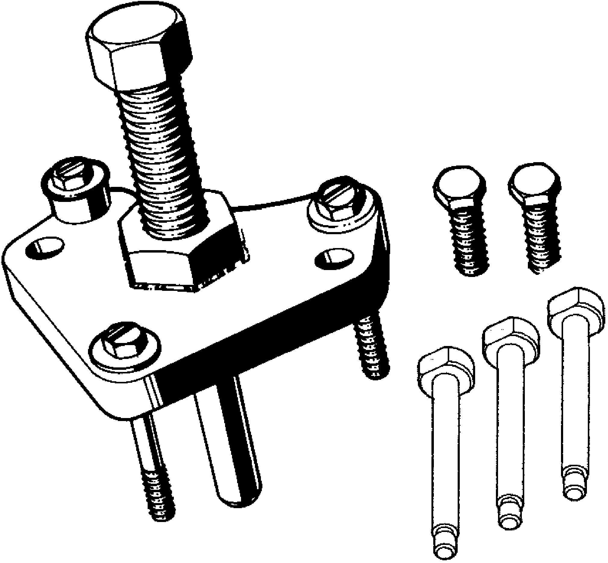 Crankshaft Balancer Remover Set J A