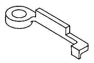 Park/Neutral Position Switch Aligner J-41545 DT-41545 U