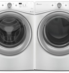 amana 4 8 cu ft front load washer and 7 4 cu ft electric dryer white freedom rent to own [ 1500 x 1054 Pixel ]