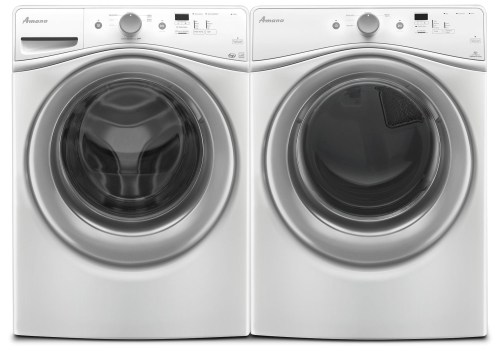 small resolution of amana 4 8 cu ft front load washer and 7 4 cu ft electric dryer white freedom rent to own