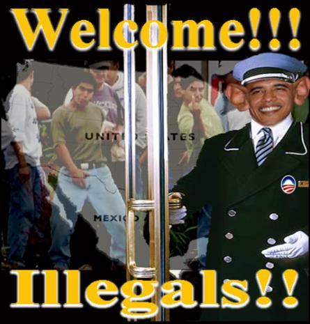 Washington Welcomes Illegals:  Obama Upset Over Arizona Enforcing the Law