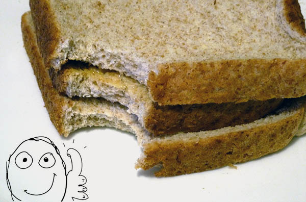 Toast Sandwich Recipe The Most Frugal Meal Ever