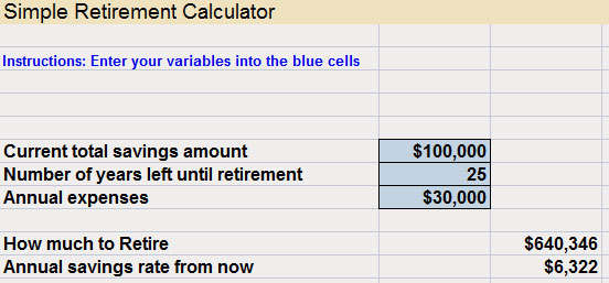 15 08 Retirement Calculator Simple
