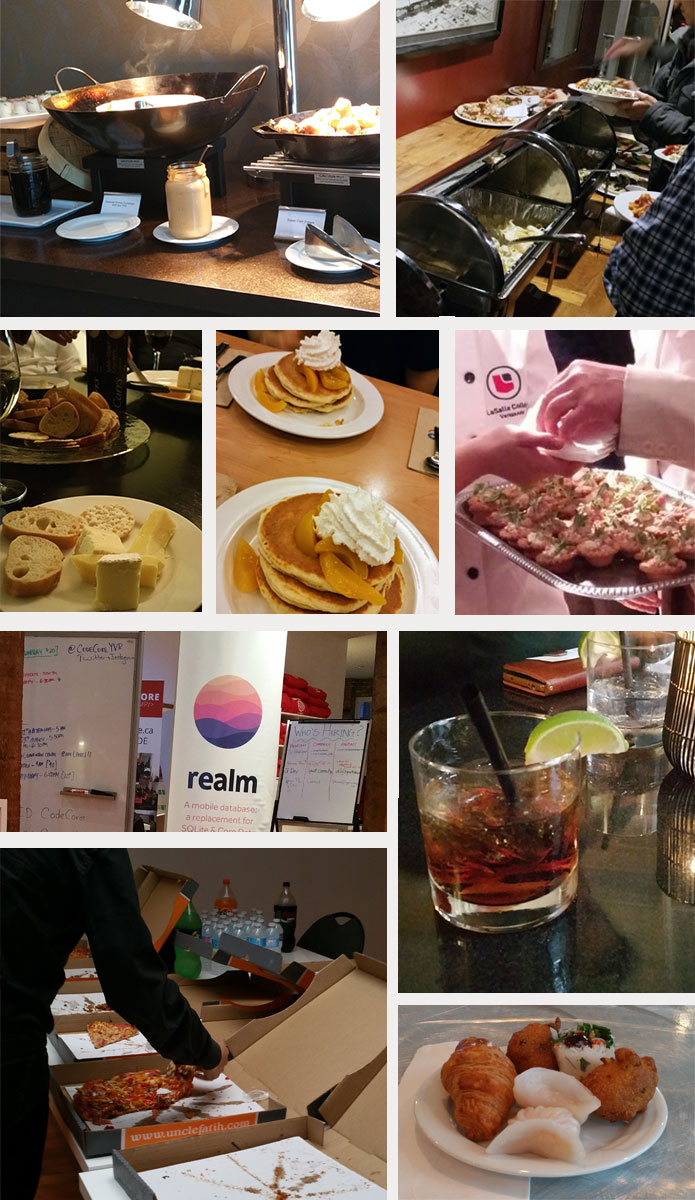 food events mostly found through eventbrite