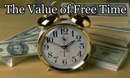 how much do you value your free time?