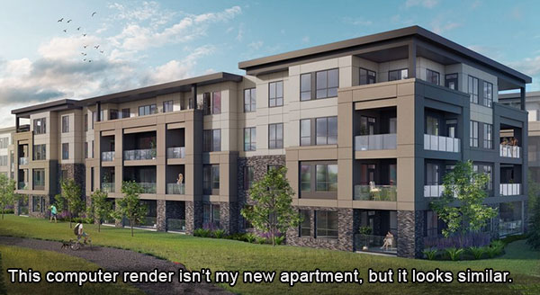 There are lots of low rise condos like this popping up around the lower mainland