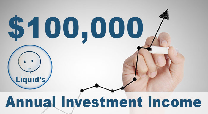 How to make investment income.