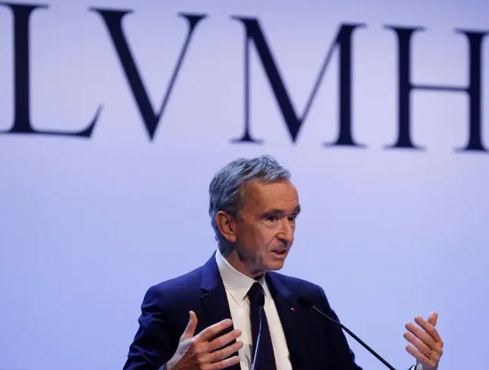 Bernard Arnault has built a luxury empire