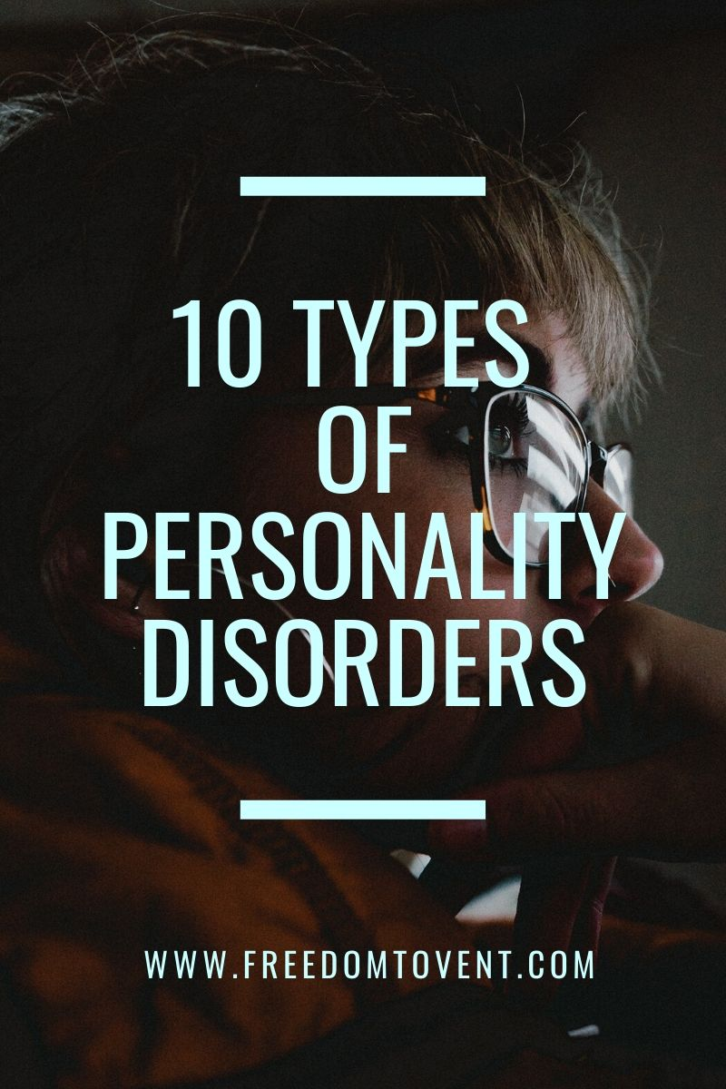 Read more about the article 10 Types of Personality Disorders