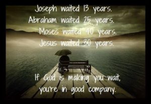 Patience in Waiting