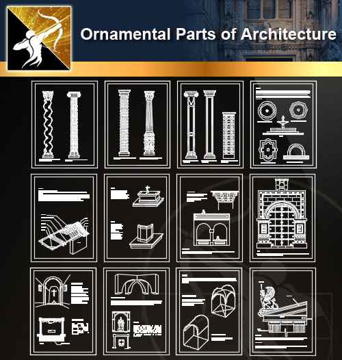 ☆autocad blocks library archives free download architectural