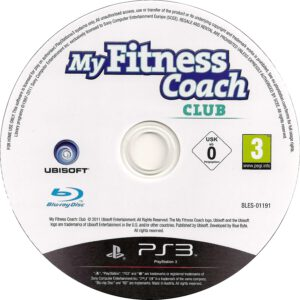 My Fitness Coach Club 2011 R2  PlayStation 3  CD Label DVD Cover Front Cover