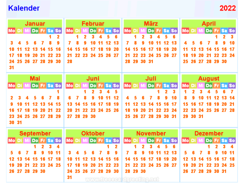 Kalender 2021 Bayern Zum Ausdrucken / Kalender Bayern 2021 ...