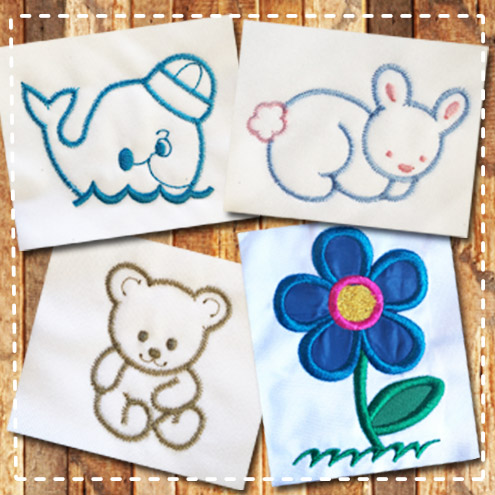 free embroidery designs look