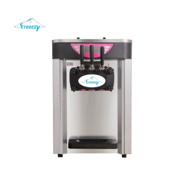 softeis und frozen yogurt maschine