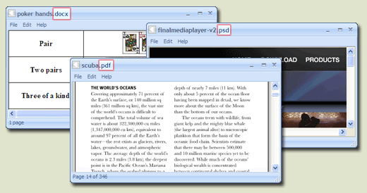 PDF, DOC, DOCX, DAT, BIN, PHP Viewer - FreeFileViewer