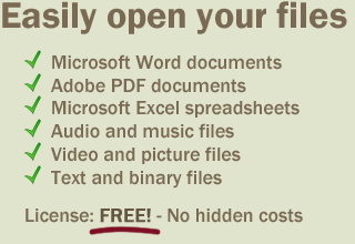 PDF, DOC, DOCX, DAT, BIN, PHP Viewer - FreeFileViewer