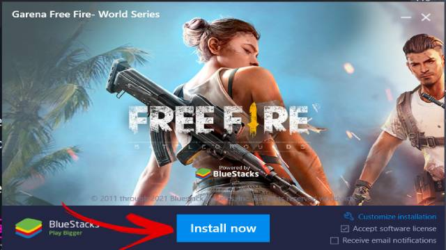 Garena Free Fire Install in Computer