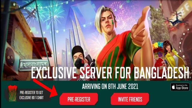 Free Fire Bangadesh Server