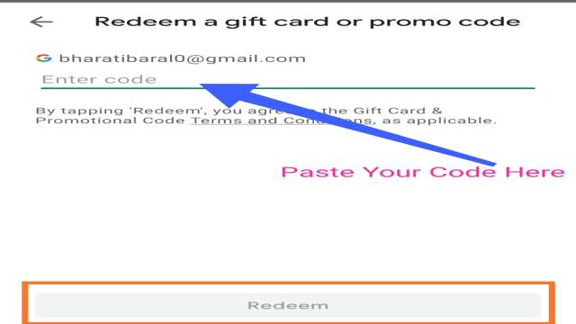 Claim your Play Store Voucher