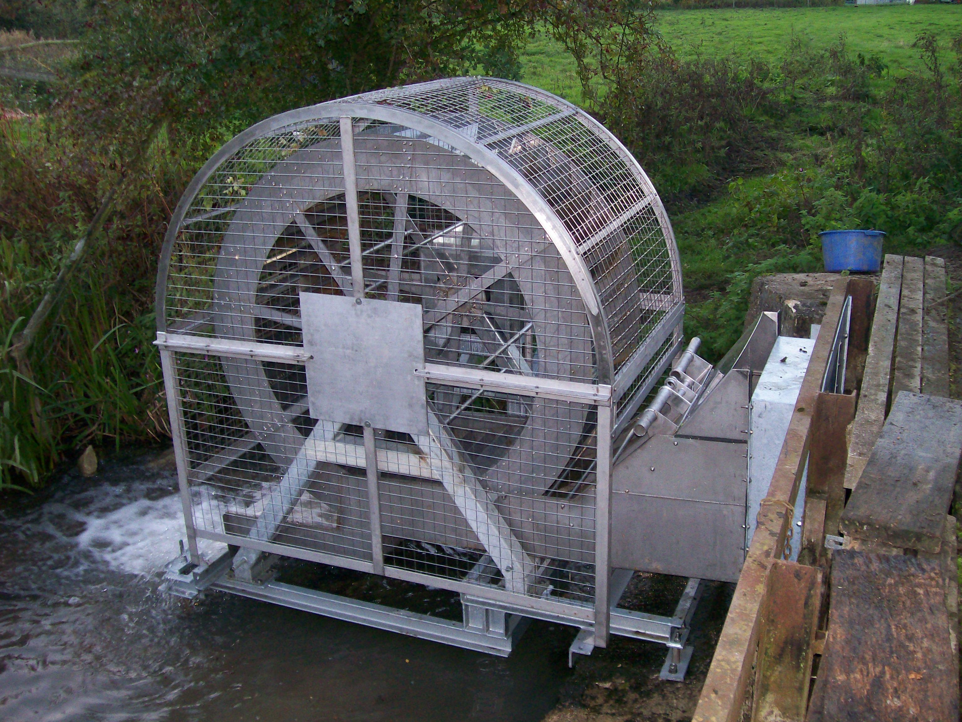 Poncelet Wheel Derived Micro Hydro Energy Freeflow 69