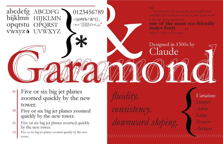 Adobe Garamond Font Free Download - Free Fonts