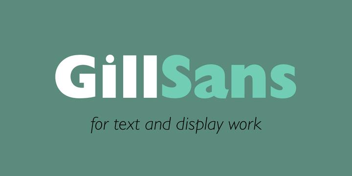 Gill Sans 2