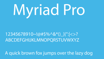 myriad pro black condensed font download
