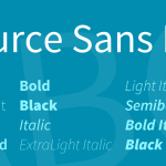 Source Sans Pro Font Family Free Download
