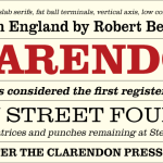 Clarendon Font Free Download