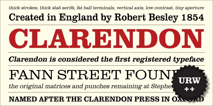 Clarendon Font Free Download - Free Fonts