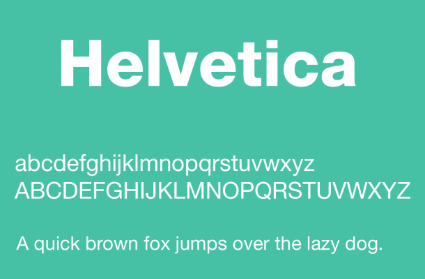 Helvetica Font Free Download