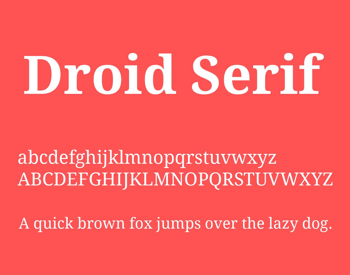 droid-serif-font