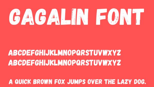 Gagalin Font Free Download