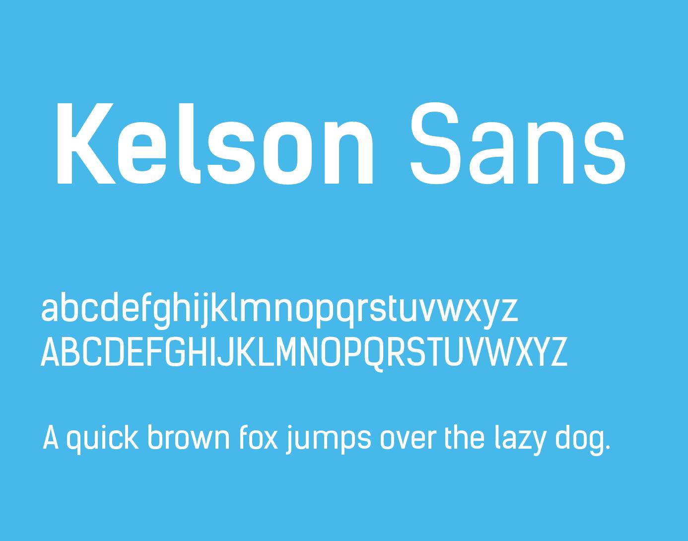 kelson-sans-font