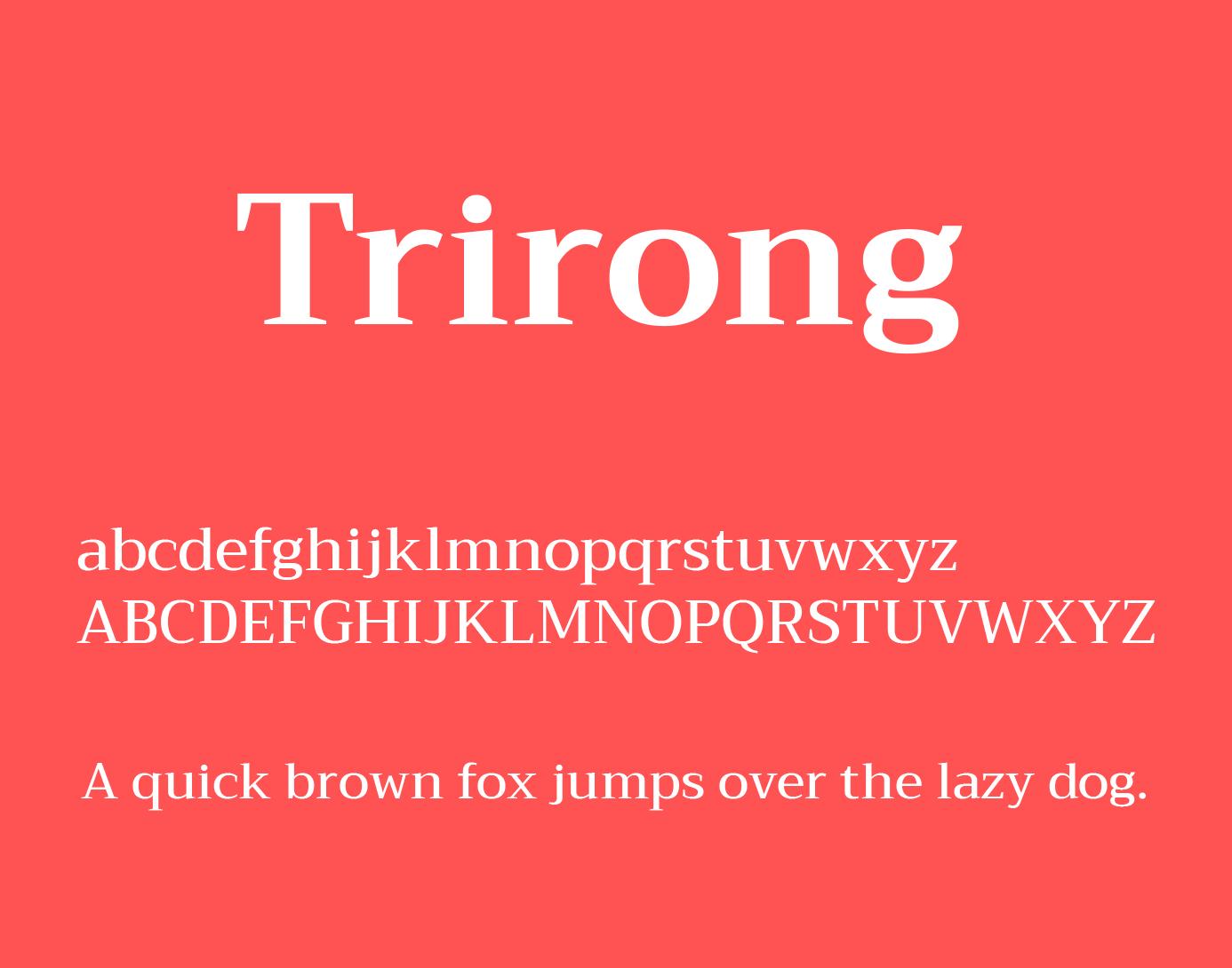 trirong-font