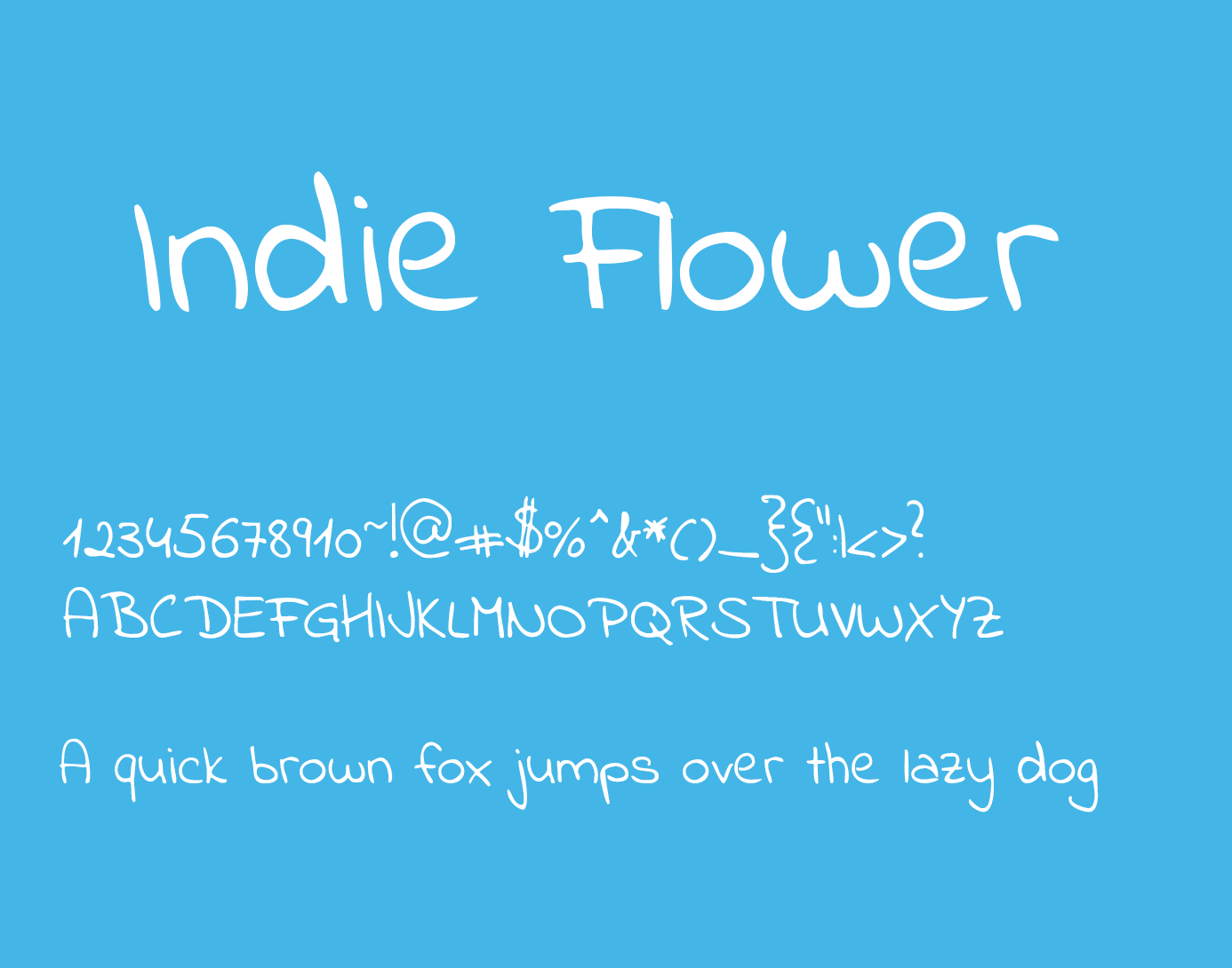 indie flower