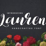 Lauren Script Font
