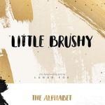 Little Brushy Font