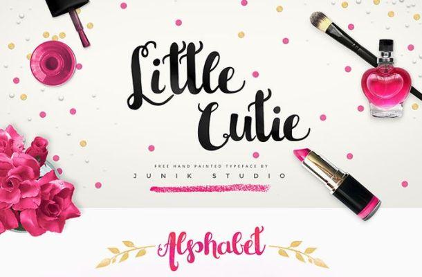 Little Cutie Font Free