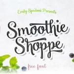 Smoothie Shoppe – Script Font