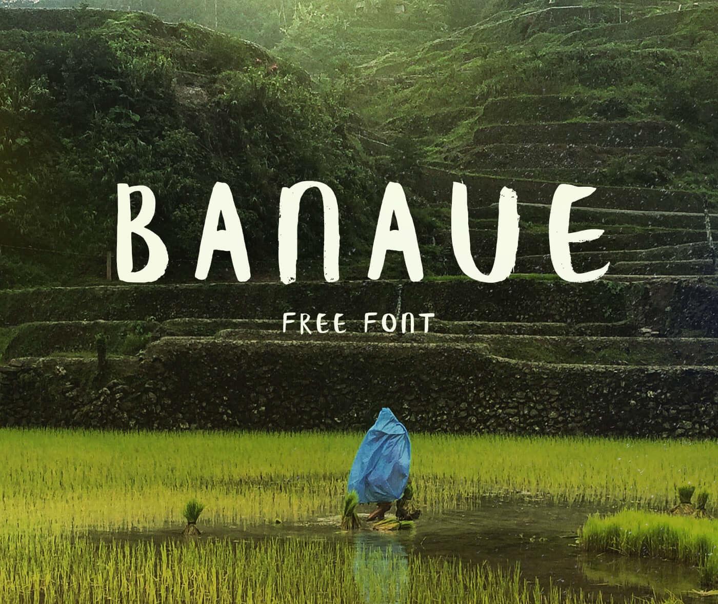 Banaue font