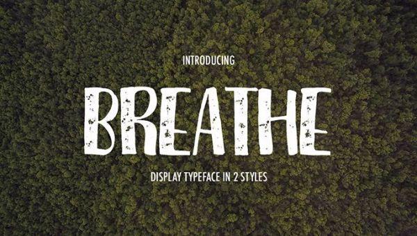 Breathe Font Free