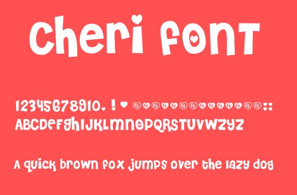 Cheri Font Free
