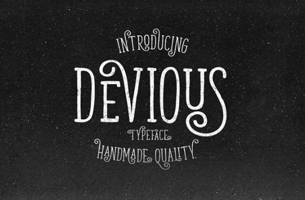 Devious Typeface Free