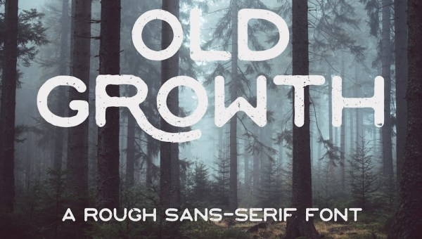 Old Growth – Free Font