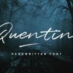 Quentin Script Font